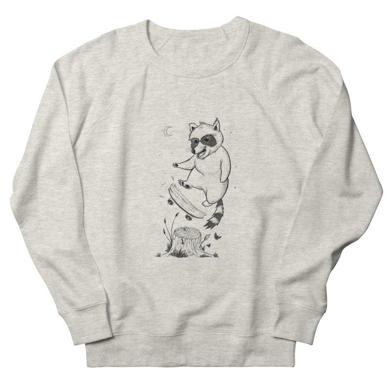 Flippin Racoon Men's Sweatshirt by ETIENNE LAURENT