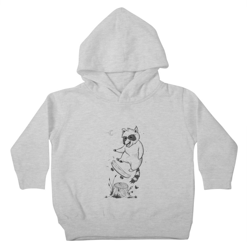 Flippin Racoon Kids Toddler Pullover Hoody by ETIENNE LAURENT