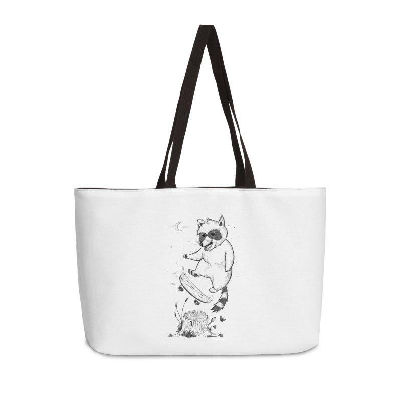 Flippin Racoon Accessories Weekender Bag Bag by ETIENNE LAURENT