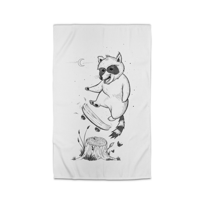 Flippin Racoon Home Rug by ETIENNE LAURENT