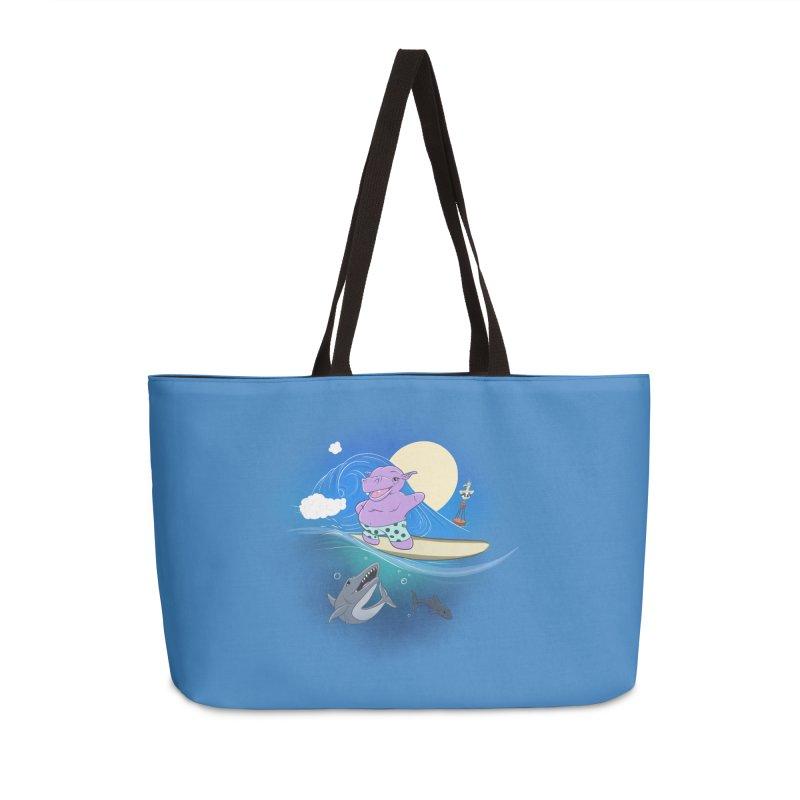 Surfing hippo Accessories Weekender Bag Bag by ETIENNE LAURENT