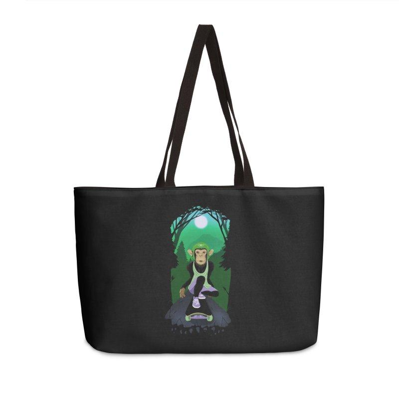 Downhill chimp Accessories Weekender Bag Bag by ETIENNE LAURENT