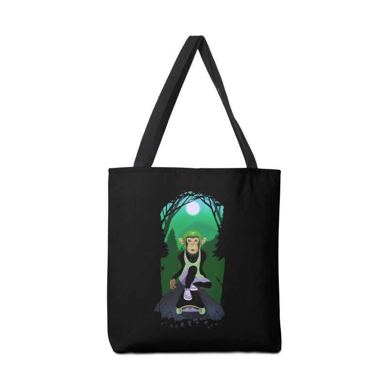 Downhill chimp Accessories Tote Bag Bag by ETIENNE LAURENT