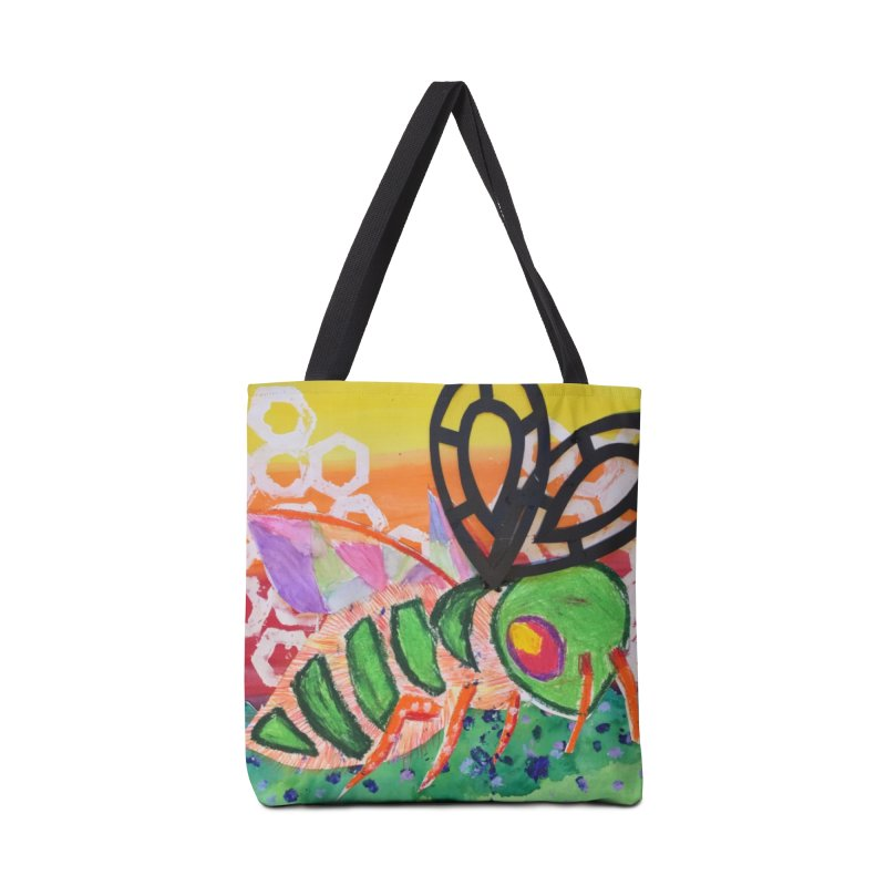 Bee Natural Accessories Tote Bag Bag by Eva's Doodle & Paintings