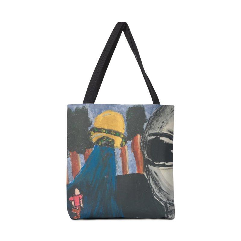 Alien Abduction Accessories Tote Bag Bag by Eva's Doodle & Paintings