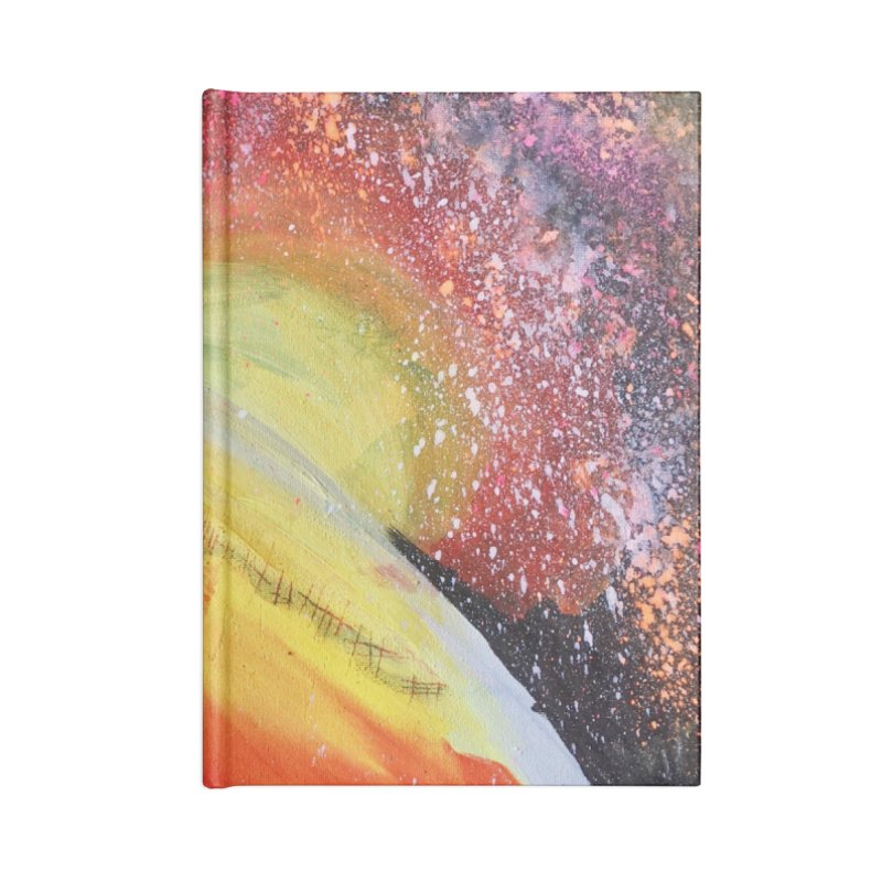 Beautiful Earth Accessories Lined Journal Notebook by Eva's Doodle & Paintings