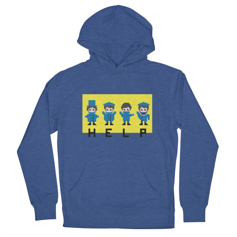 Help! Women's Pullover Hoody by Eu era pop - 8-bit pop culture :)