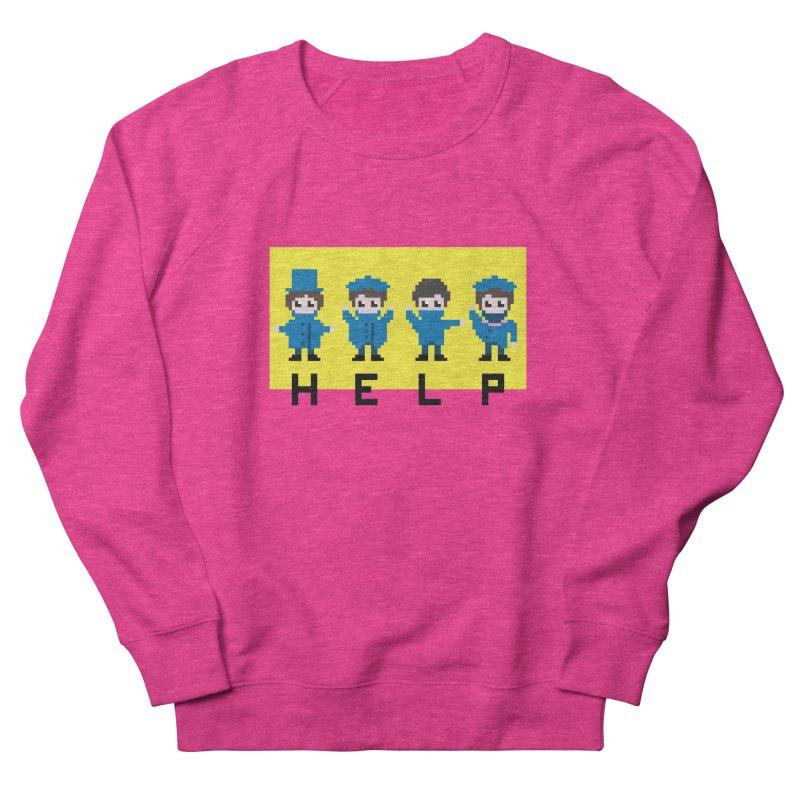 Help! Women's Sweatshirt by Eu era pop - 8-bit pop culture :)