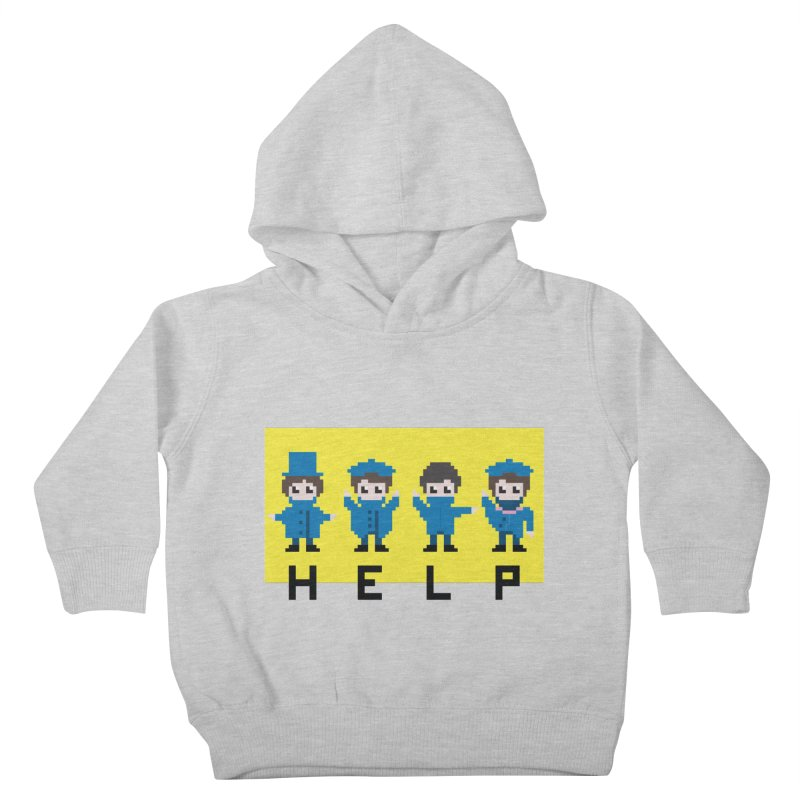Help! Kids Toddler Pullover Hoody by Eu era pop - 8-bit pop culture :)