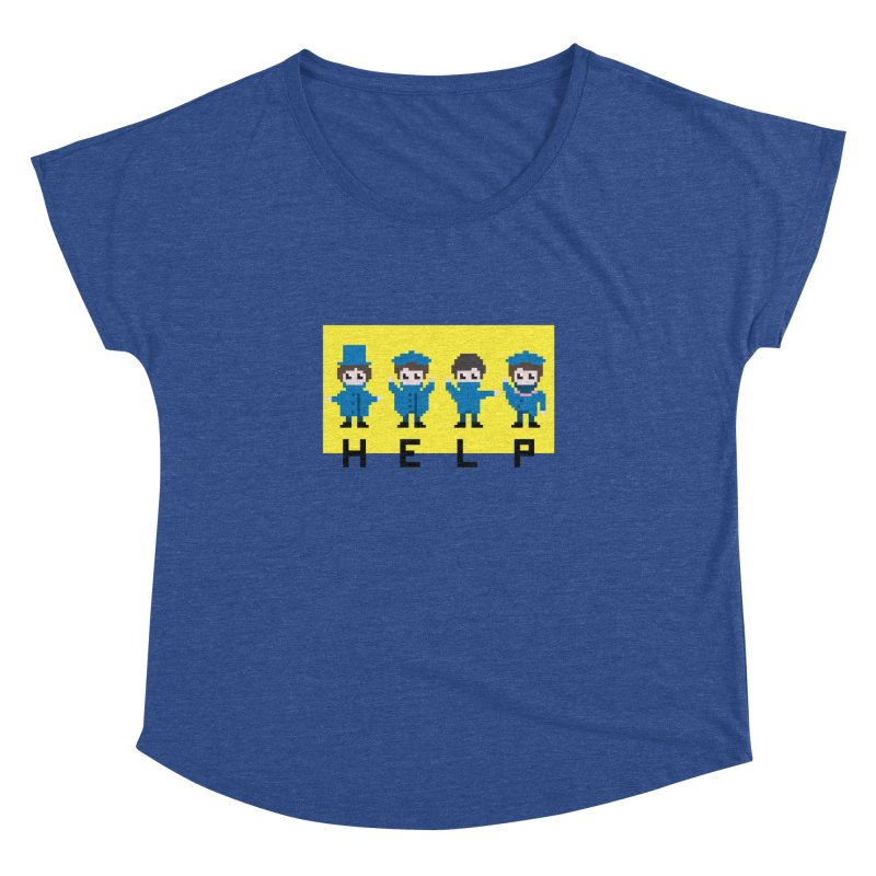 Help! Women's Dolman by Eu era pop - 8-bit pop culture :)