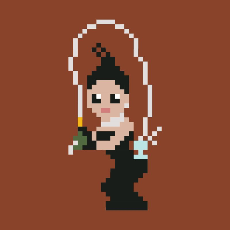 Kim K breaking the internet by Eu era pop - 8-bit pop culture :)