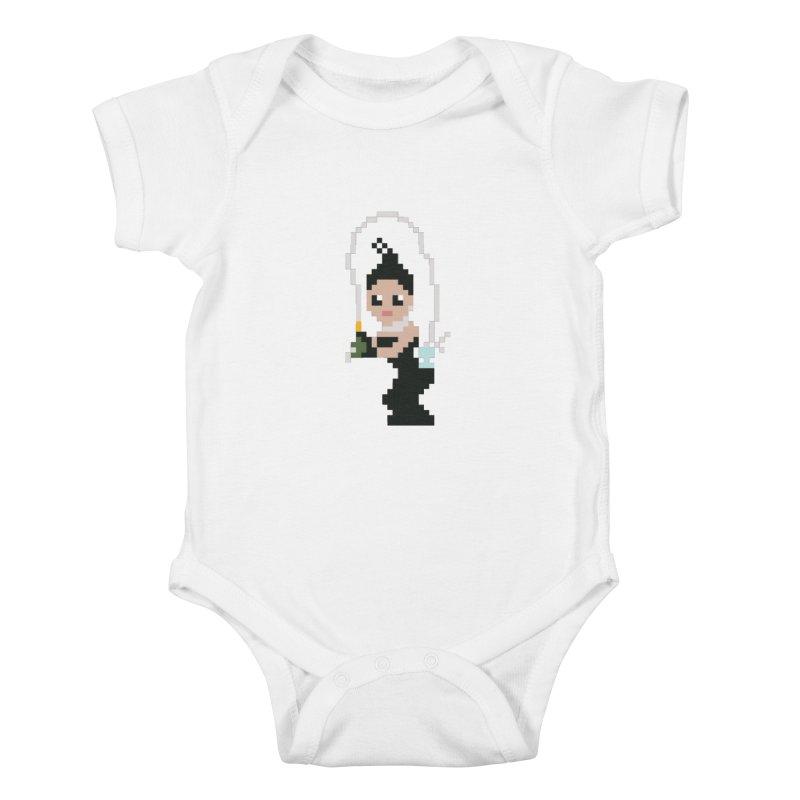 Kim K breaking the internet Kids Baby Bodysuit by Eu era pop - 8-bit pop culture :)