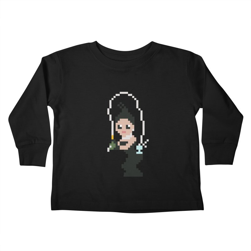 Kim K breaking the internet Kids Toddler Longsleeve T-Shirt by Eu era pop - 8-bit pop culture :)