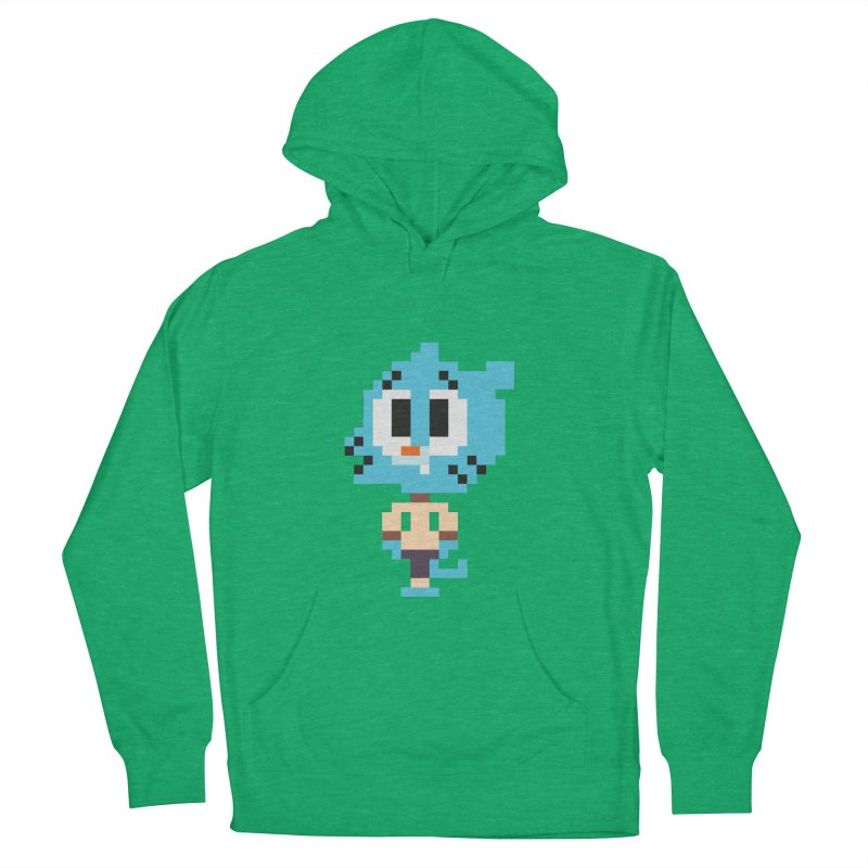 Amazing World! Women's Pullover Hoody by Eu era pop - 8-bit pop culture :)