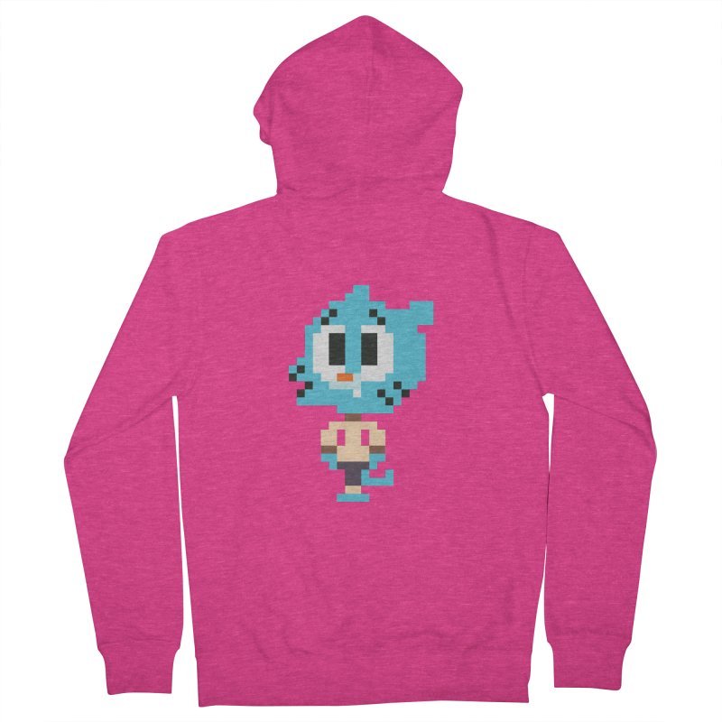 Amazing World! Women's Zip-Up Hoody by Eu era pop - 8-bit pop culture :)