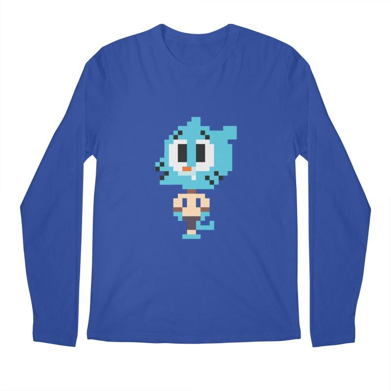 Amazing World! Men's Longsleeve T-Shirt by Eu era pop - 8-bit pop culture :)