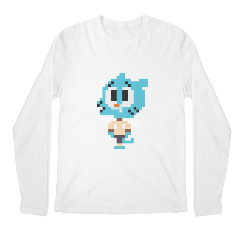 Amazing World! Men's Longsleeve T-Shirt by Eu era pop - 8-bit pop culture :)