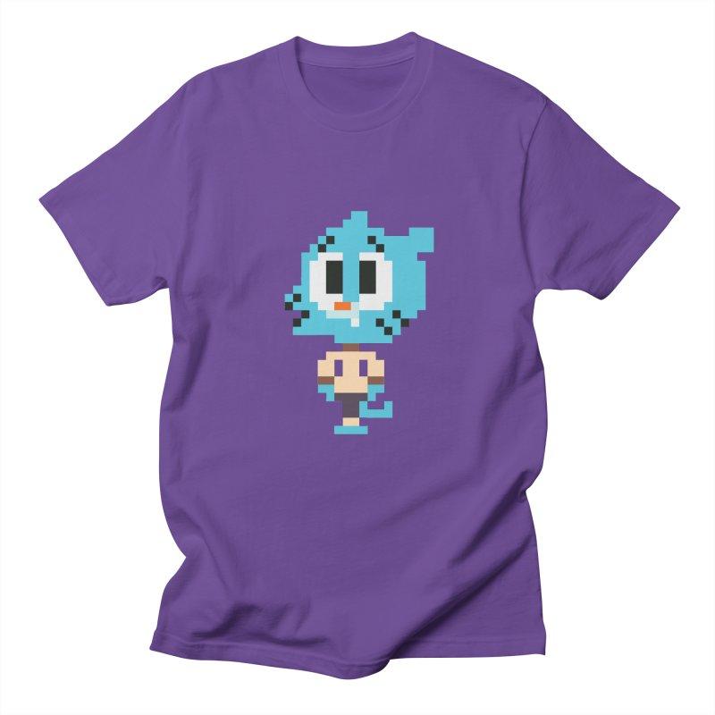 Amazing World! Men's Regular T-Shirt by Eu era pop - 8-bit pop culture :)
