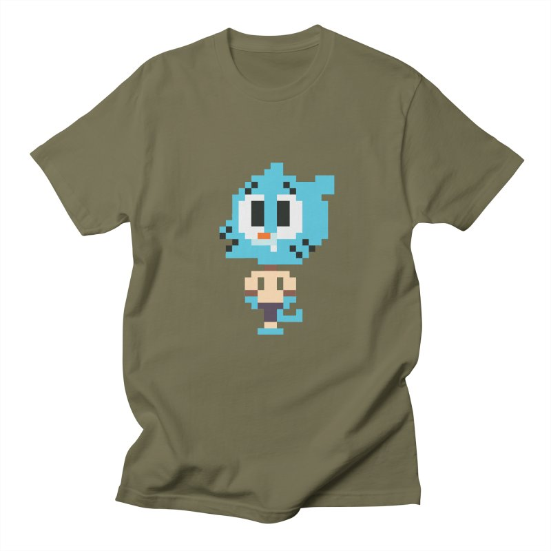 Amazing World! Men's T-Shirt by Eu era pop - 8-bit pop culture :)