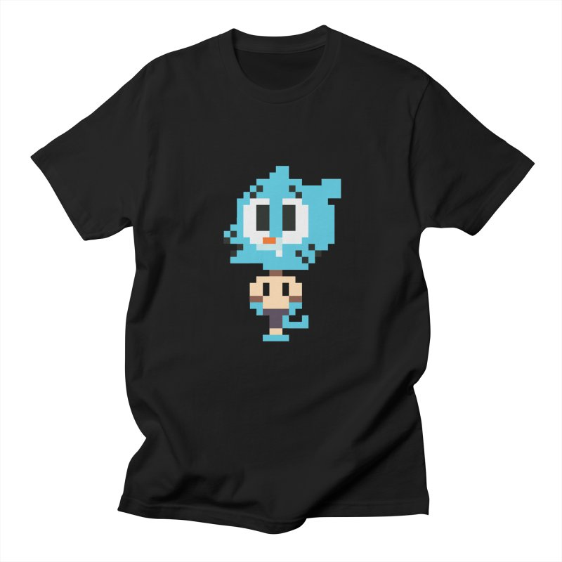 Amazing World! Men's Regular T-Shirt by Eu era pop - 8-bit pop culture :)