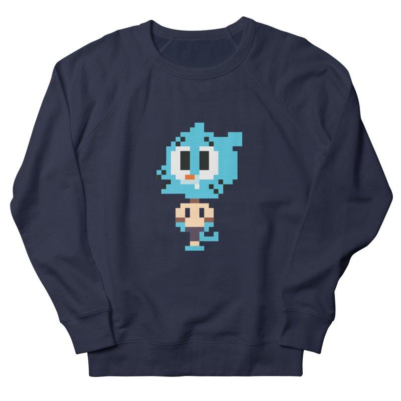 Amazing World! Women's French Terry Sweatshirt by Eu era pop - 8-bit pop culture :)