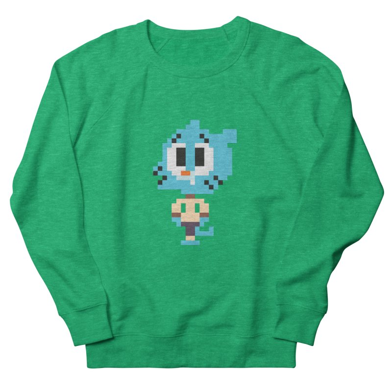 Amazing World! Men's French Terry Sweatshirt by Eu era pop - 8-bit pop culture :)