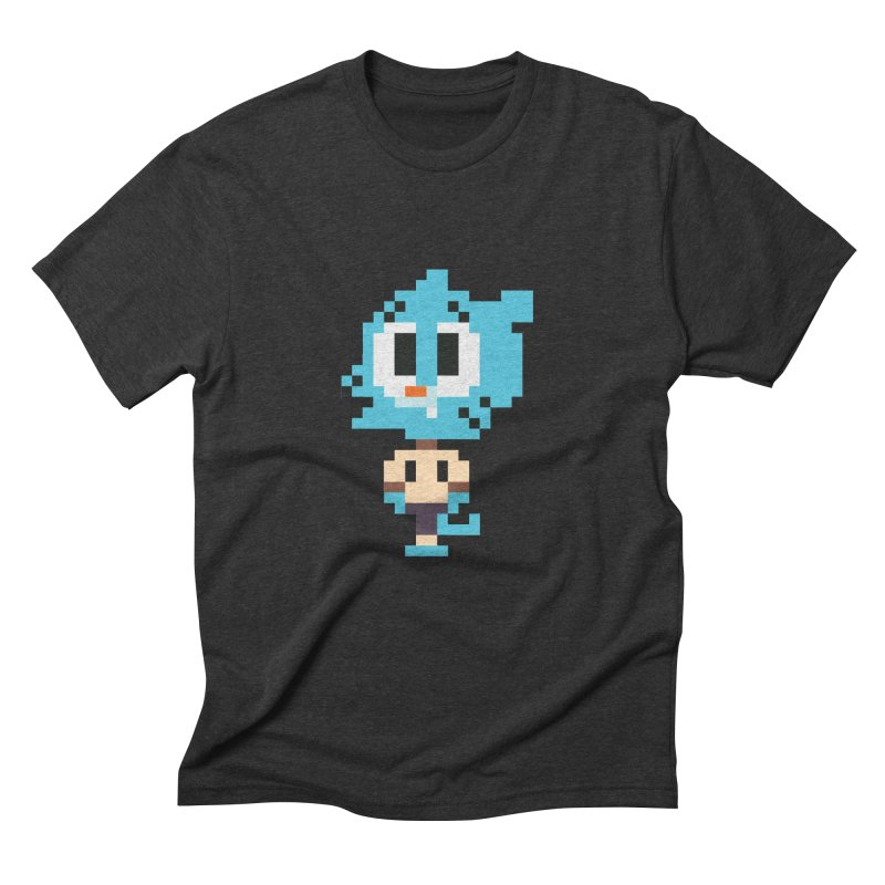 Amazing World! Men's Triblend T-shirt by Eu era pop - 8-bit pop culture :)