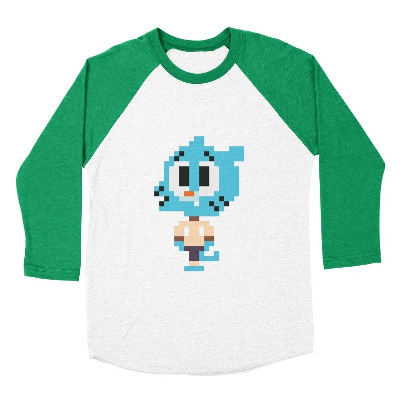 Amazing World! Women's Baseball Triblend T-Shirt by Eu era pop - 8-bit pop culture :)