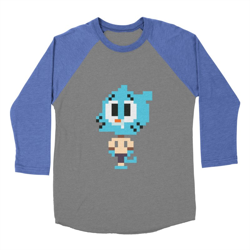 Amazing World! Women's Baseball Triblend Longsleeve T-Shirt by Eu era pop - 8-bit pop culture :)