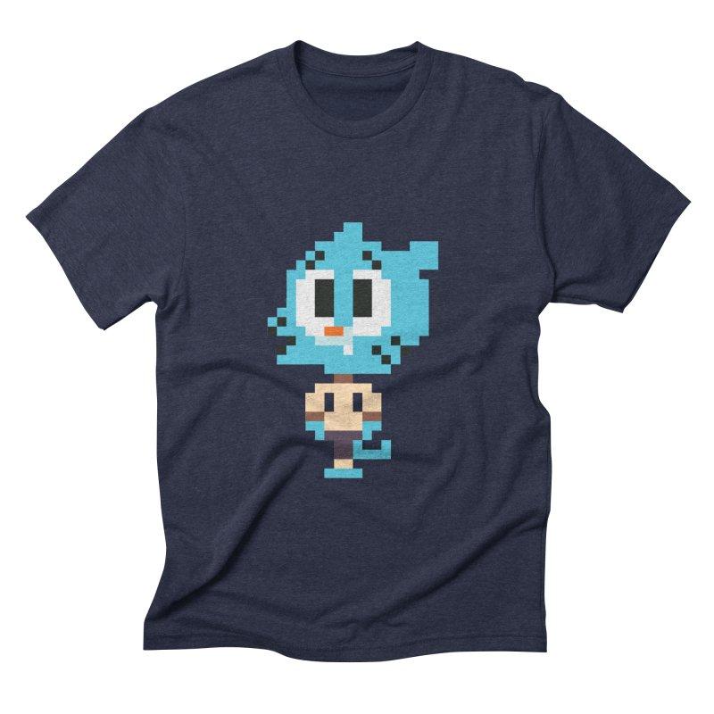 Amazing World! Men's Triblend T-shirt by Eu era pop - 8-bit pop culture :)