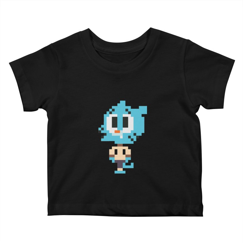 Amazing World! Kids Baby T-Shirt by Eu era pop - 8-bit pop culture :)