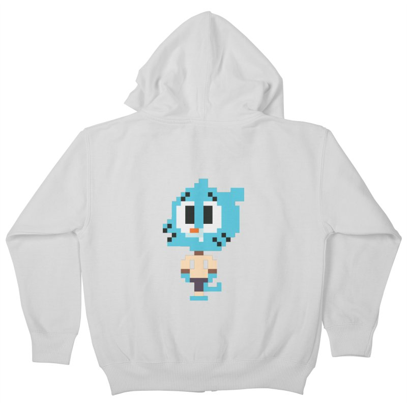 Amazing World! Kids Zip-Up Hoody by Eu era pop - 8-bit pop culture :)