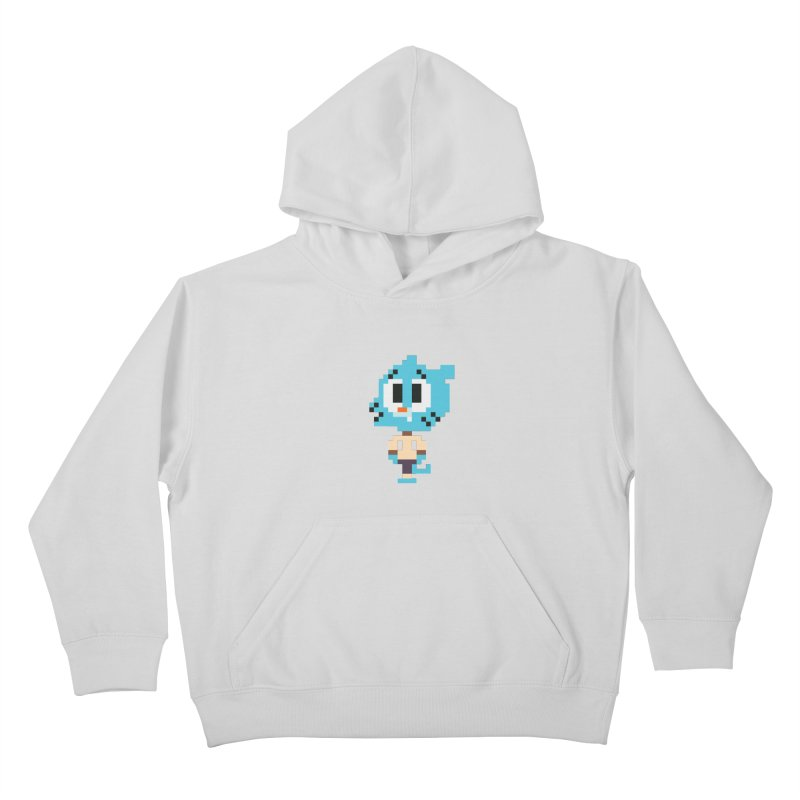 Amazing World! Kids Pullover Hoody by Eu era pop - 8-bit pop culture :)