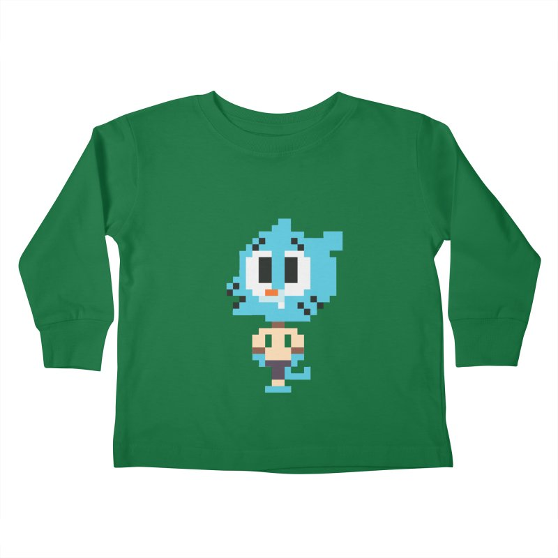 Amazing World! Kids Toddler Longsleeve T-Shirt by Eu era pop - 8-bit pop culture :)