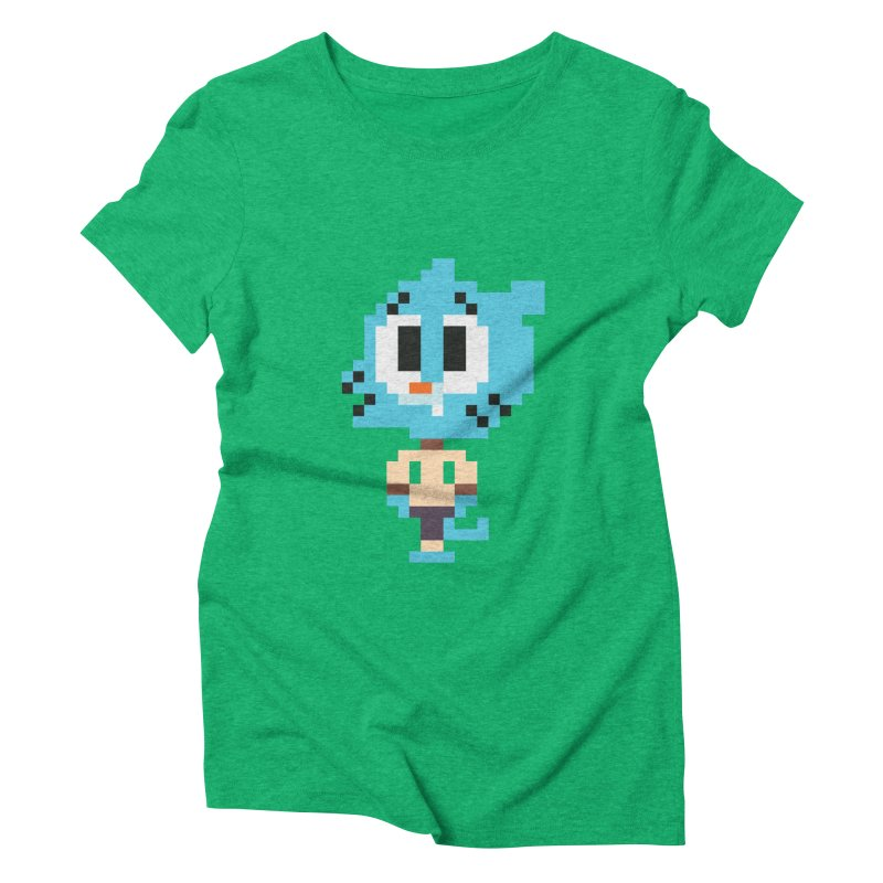 Amazing World! Women's Triblend T-Shirt by Eu era pop - 8-bit pop culture :)
