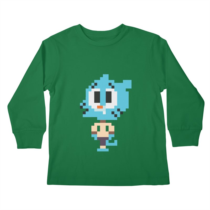 Amazing World! Kids Longsleeve T-Shirt by Eu era pop - 8-bit pop culture :)