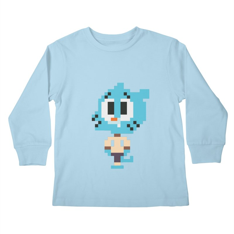 Amazing World! Kids Longsleeve T-Shirt by Eu era pop - 8-bit pop culture :)