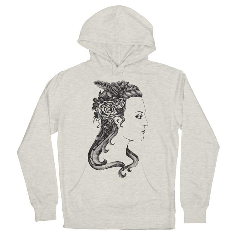 Black And White Beauty Women's Pullover Hoody by Eugenia Hauss's | Exiled Beauty