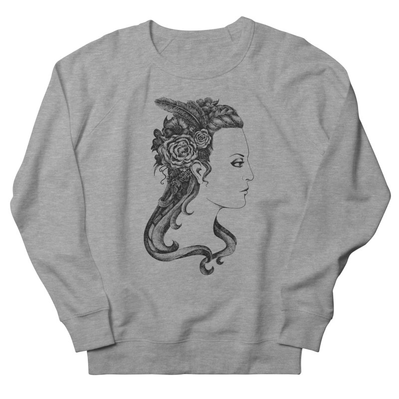 Black And White Beauty Women's Sweatshirt by Eugenia Hauss's | Exiled Beauty