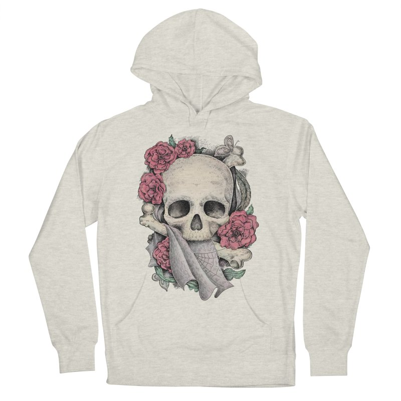 Memento Mori Women's Pullover Hoody by Eugenia Hauss's | Exiled Beauty