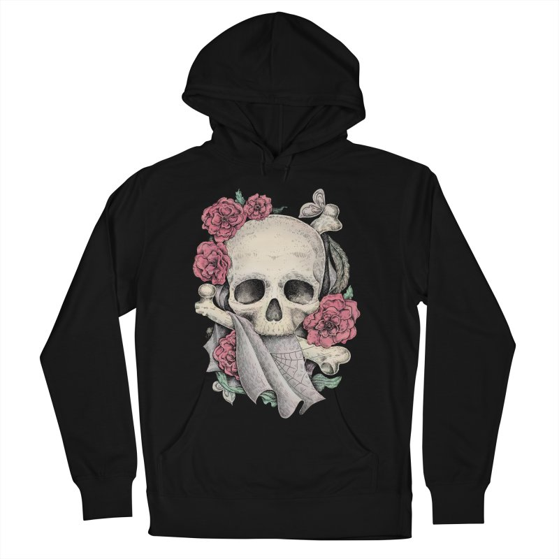 Memento Mori Men's French Terry Pullover Hoody by Eugenia Hauss's | Exiled Beauty