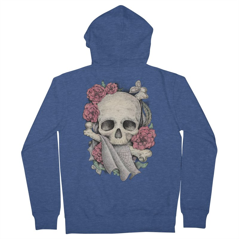 Memento Mori Women's Zip-Up Hoody by Eugenia Hauss's | Exiled Beauty