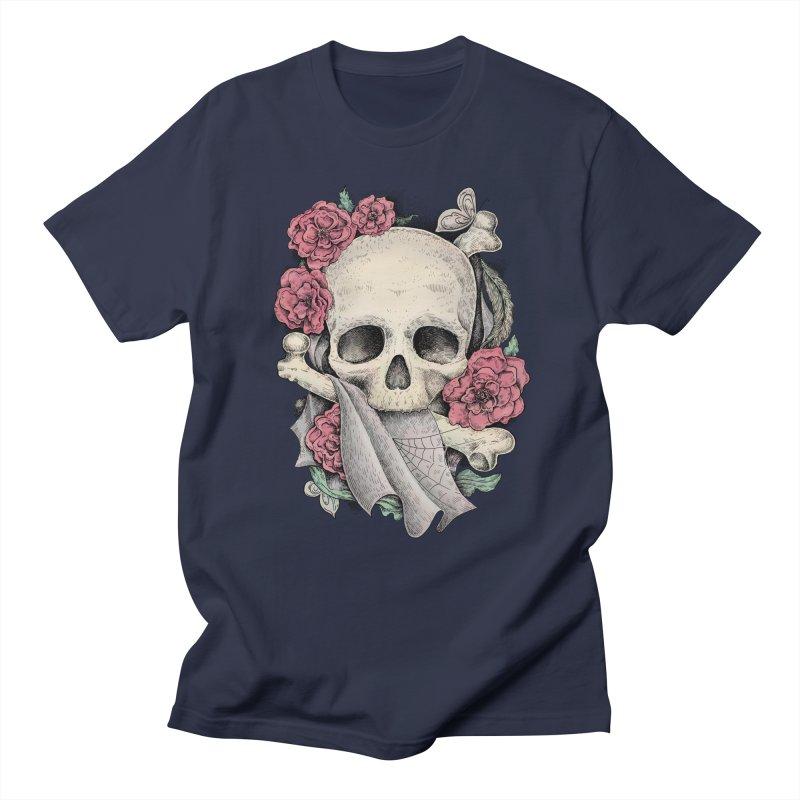 Memento Mori Men's T-Shirt by Eugenia Hauss's | Exiled Beauty
