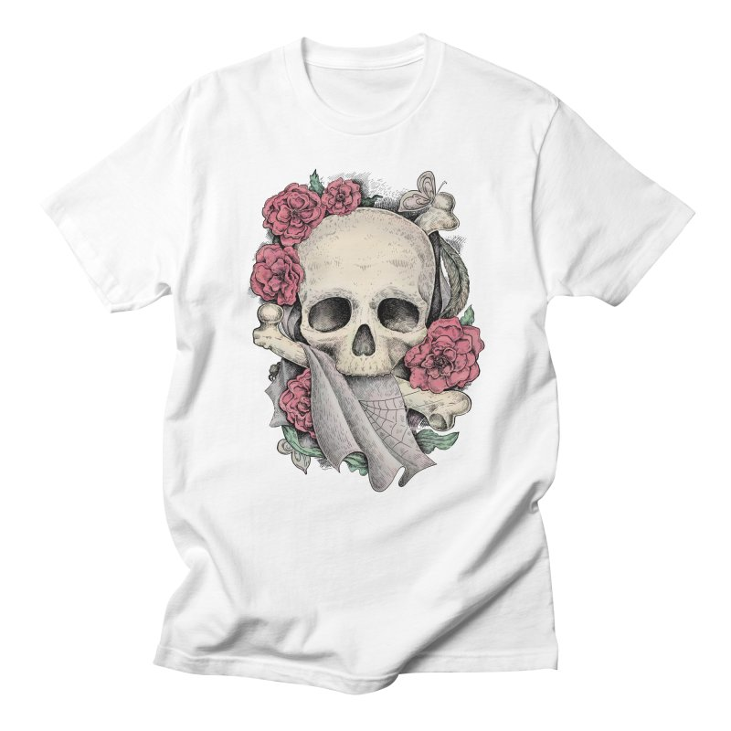 Memento Mori Men's Regular T-Shirt by Eugenia Hauss's | Exiled Beauty