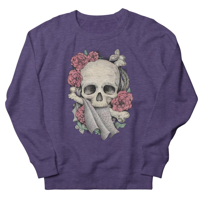 Memento Mori Women's French Terry Sweatshirt by Eugenia Hauss's | Exiled Beauty