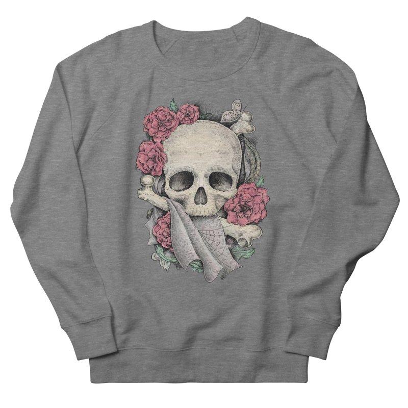 Memento Mori Women's French Terry Sweatshirt by Eugenia Hauss's | Exiled Beauty