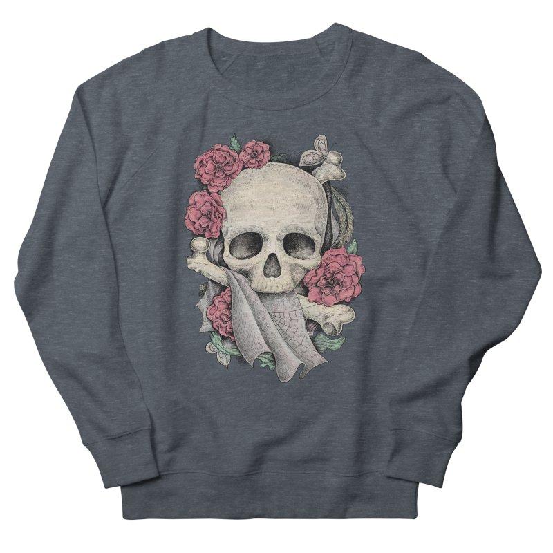 Memento Mori Men's French Terry Sweatshirt by Eugenia Hauss's | Exiled Beauty