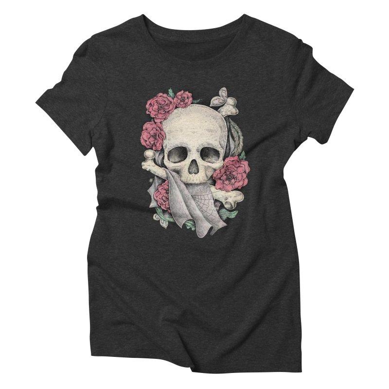 Memento Mori Women's Triblend T-Shirt by Eugenia Hauss's | Exiled Beauty
