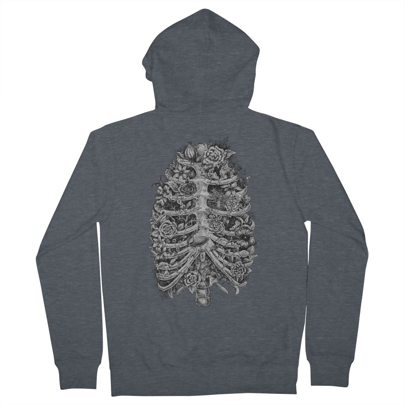 I can't breathe without you Women's French Terry Zip-Up Hoody by Eugenia Hauss's | Exiled Beauty