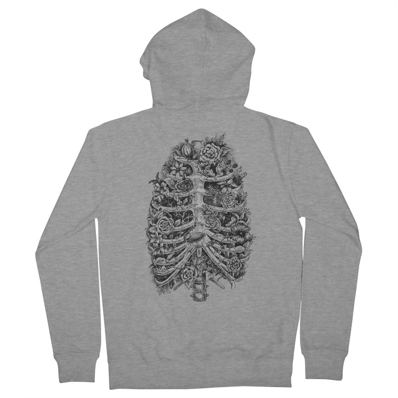 I can't breathe without you Men's Zip-Up Hoody by Eugenia Hauss's | Exiled Beauty